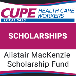 cupe 5430 scholarships